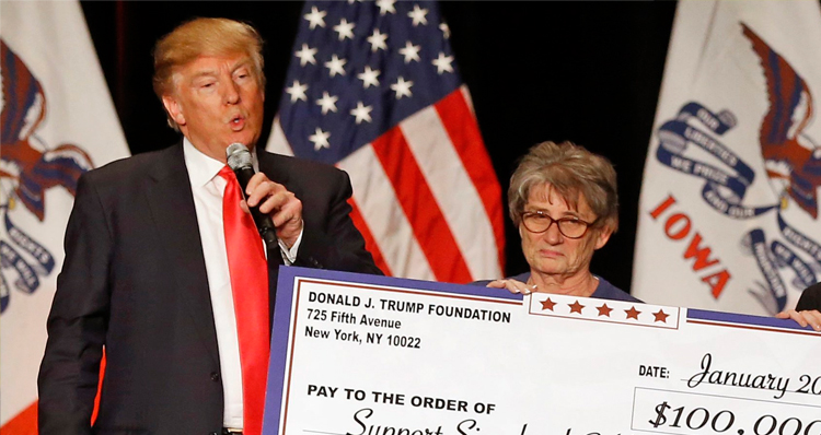 Trump Foundation Shut Down By NY Attorney General For Illegal Solicitation