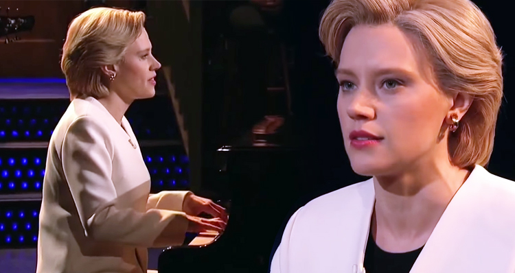 Watch Kate McKinnon Sing 'Hallelujah' On SNL – There Are Just So Many Reason To Cry