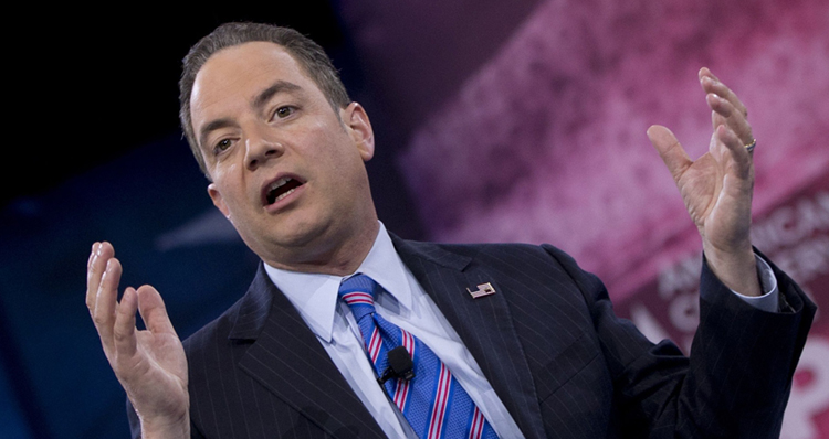 Unnamed Sources Claim Reince Priebus, Trump's Chief Of Staff, Just Got Caught Lying To Him