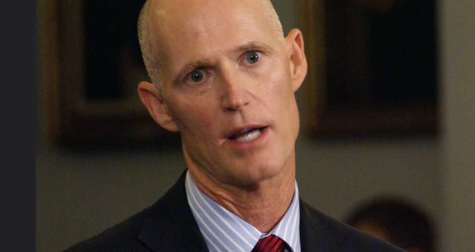 After Meeting With Trump, Florida Remains Stuck With Gov. Rick Scott
