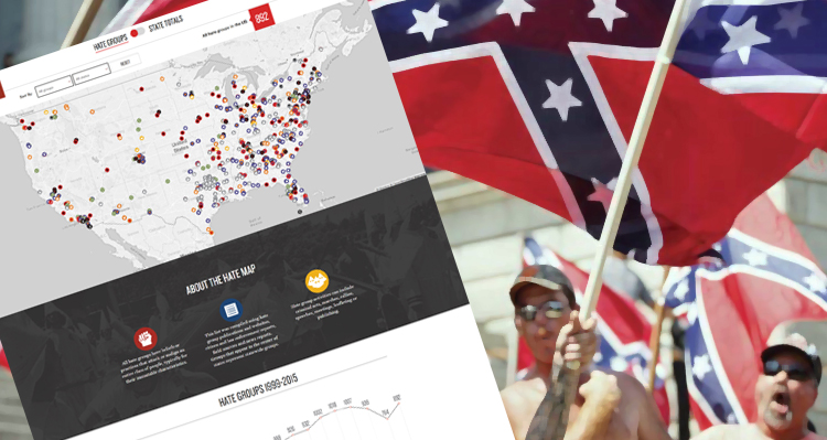 Interactive 'Hate Map' Identifies Hate Groups Across the Country and In Your State