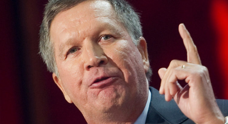 Could President Kasich Be Taking The Oath Of Office In January?