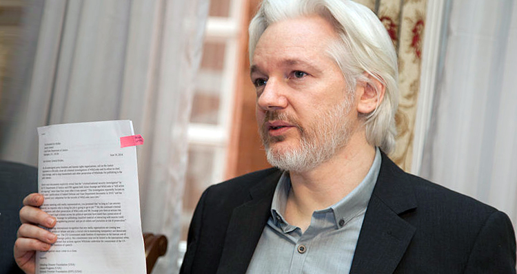 Time For Cowardly Julian Assange To Put His Money Where His Mouth Is