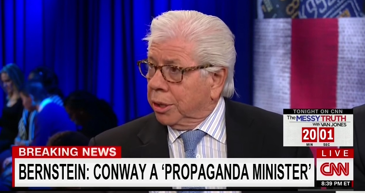 Legendary Investigative Journalist Carl Bernstein Blasts Trump Apologist Kellyanne Conway – Video
