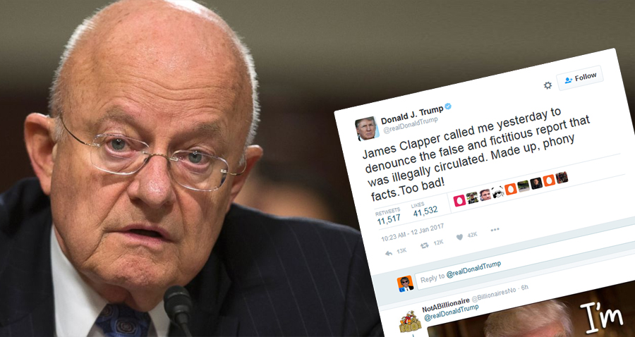 Trump Straight-Up LIED About Conversation With Director Of National Intelligence