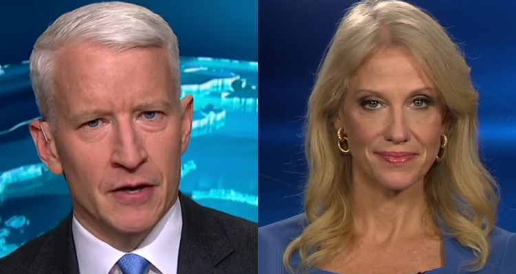 Fiery Exchange Erupts Between Anderson Cooper And Kellyanne Conway – Video