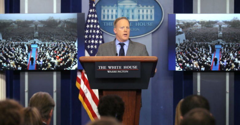 Sean Spicer Says White House Can 'Disagree With Facts'