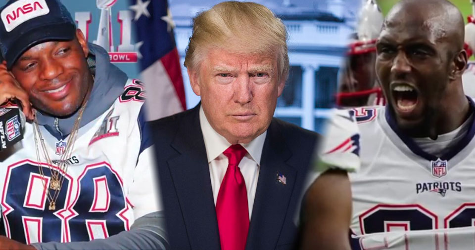Two New England Patriots Protest Donald Trump In Most Galling Way Possible – Video