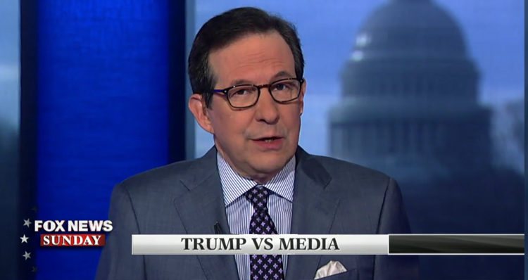 Fox News Anchor Chris Wallace Warns Viewers: 'Trump Crossed The Line' – Video