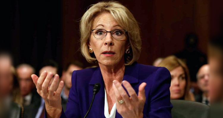 Democrats Plan to Hold Senate Floor for 24 Hours to Block DeVos Appointment