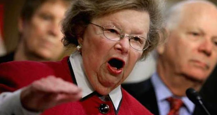 Sen. Barbara Mikulski Says Shutting Down Elizabeth Warren Will Have 'Long-Lasting Effect