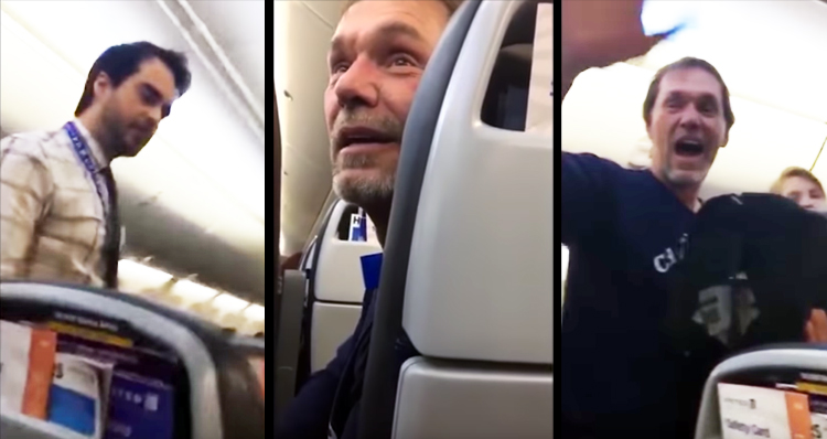 Passengers Rejoice As Man Is Kicked Off Flight For Racist Comments: 'This Is Not Trump's America' – Video