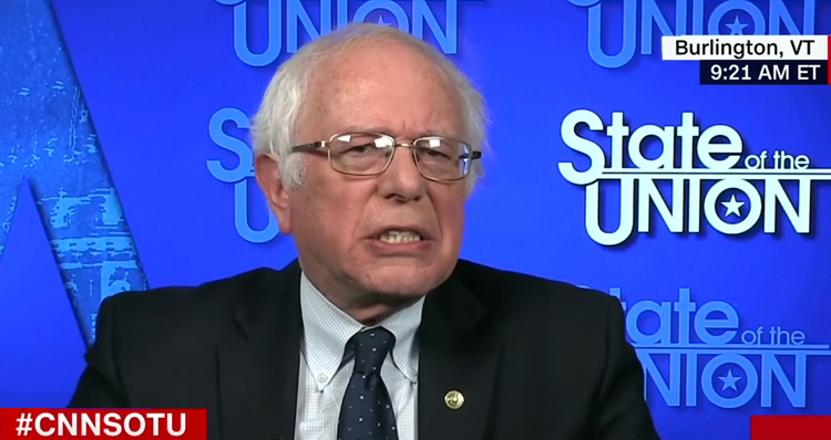 Bernie Sanders Shows Us What Resistance Looks Like: 'Trump A Hypocrite A Fraud' – Video