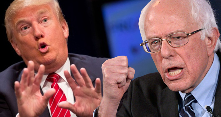 Sanders Trolls Trump, Pummeling His Ego And Pushing Back On His Authoritarianism