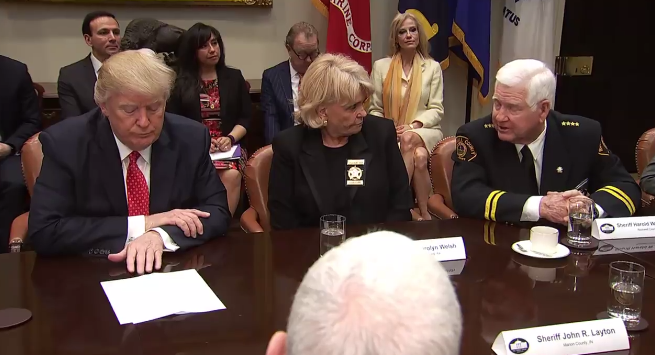 Trump Threatens To 'Destroy' Senator's Career To Help A Texas Sheriff