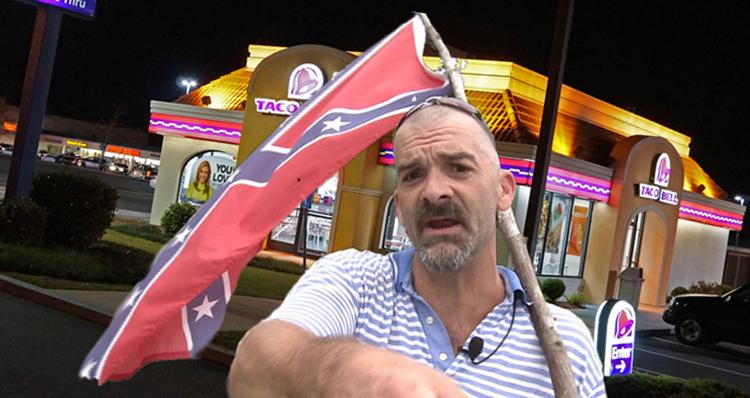 'Hulking Tattooed' Veteran Shames A Pro-Trump Anti-Muslim Hater Amid Cheers