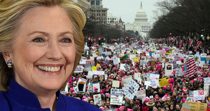 Hillary Clinton Encourages Women To 'Step Up And Speak Out' In Powerful New Video