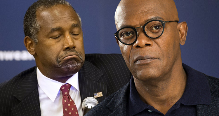Samuel L. Jackson Leads The Outrage Over Ben Carson's Asinine Slave Ships Comment
