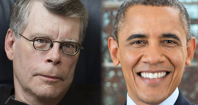Stephen King Mocks Trump With A Few Obama Conspiracy Theories Of His Own