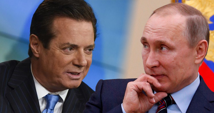 Paul Manafort Covertly Worked To Influence U.S. Politics, Business, Media To Benefit Putin