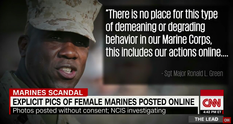 Explicit Photos Of Female Marines Posted Online, NCIS Launches Investigation – Video