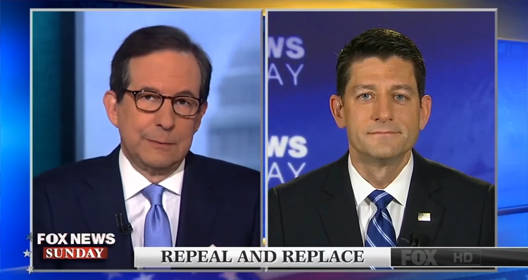 Fox News Anchor Chris Wallace Takes On Paul Ryan Over Senior Health Care – Video