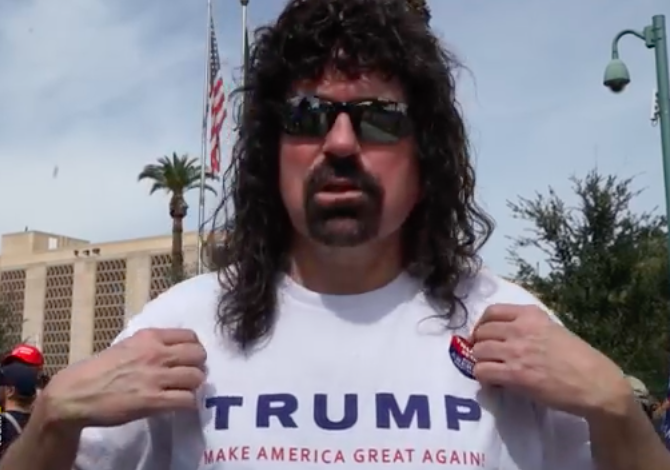 Trump Supporters Call For 'Liberal Genocide' At Arizona Rally -Video