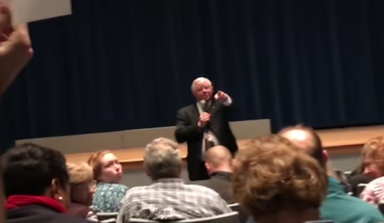 'You, Sir, Shut Up' – GOP Congressman Barks At Constituent During Town Hall – Video