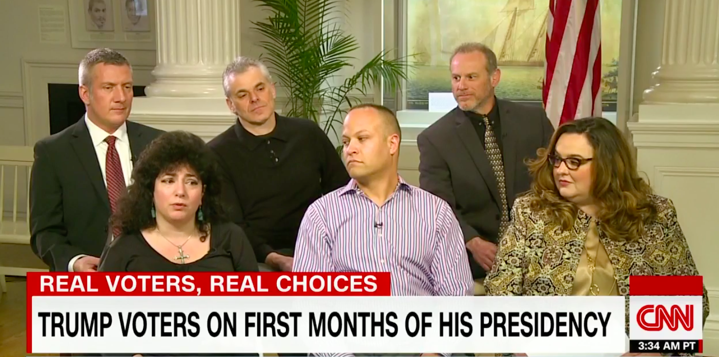 CNN Reporter Stunned By Panel Of Trump Supporters – Video