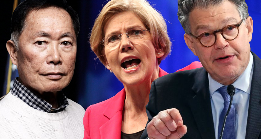 George Takei, Elizabeth Warren, Al Franken Unleash Their Fury On AG Sessions