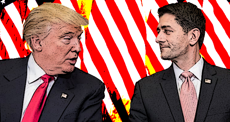 Trump And Ryan Are Swamp-Dwellers With A Lot In Common