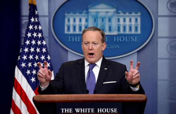 Sean Spicer – Are You Trying To Send Us A Message?
