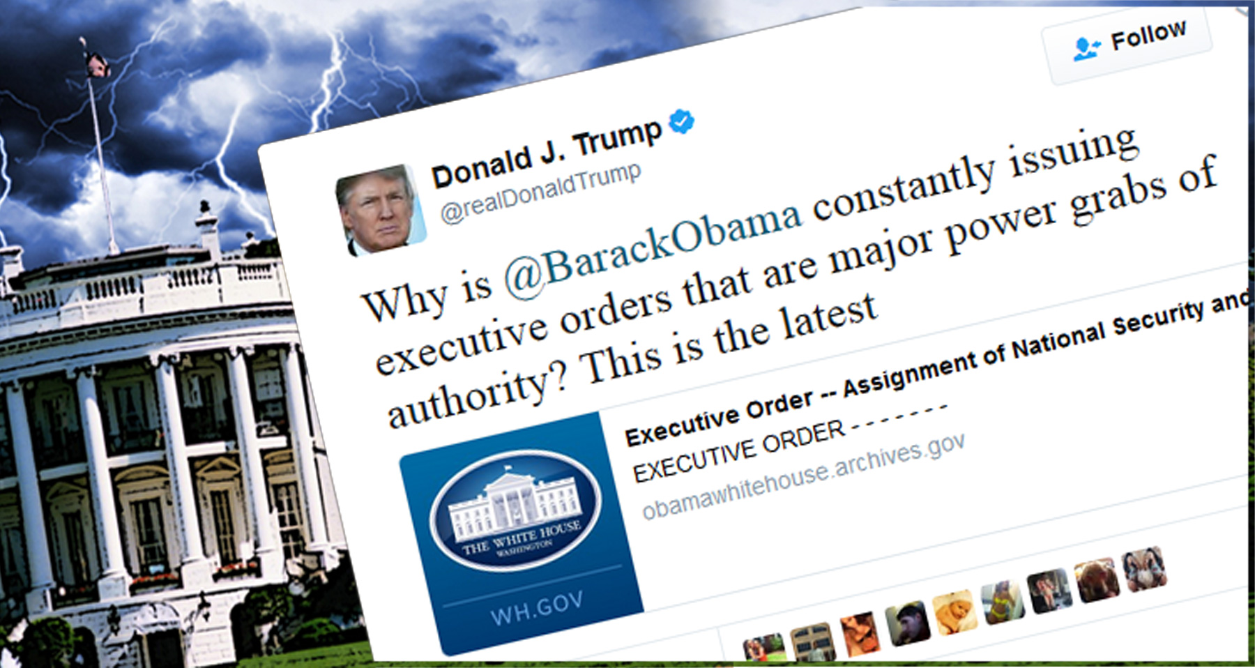 Hey Conservatives, Let's Compare Obama And Trump Executive Orders