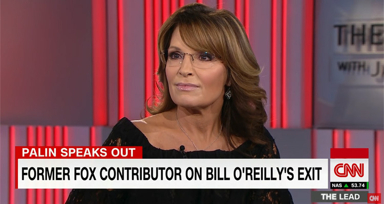 Sarah Palin Weighs In On O'Reilly And Fox News By Victim Blaming – Video