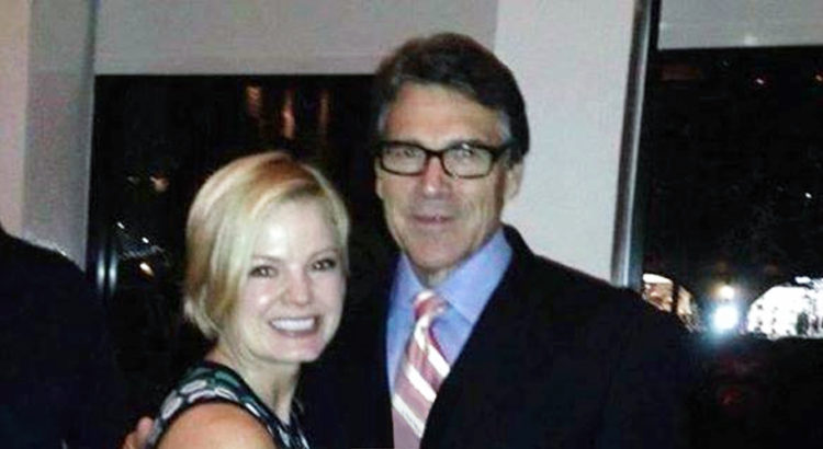 Is This Photo Of Energy Secretary Rick Perry For Real? If So We Applaud This Woman