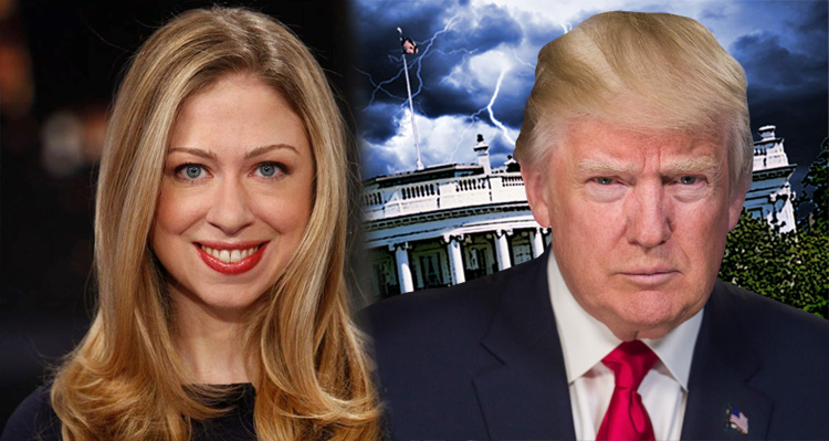 Chelsea Clinton Shows Trump What Being Classy Is All About