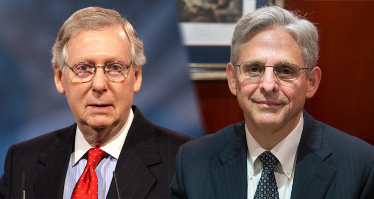 It's A Trick – Why Mitch McConnell Is Endorsing Merrick Garland To Head The FBI – Video