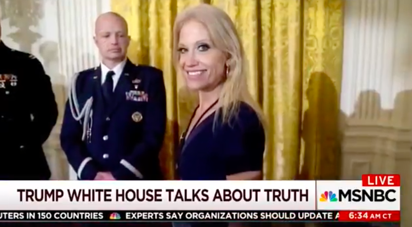 Mika Brzezinski Spills The Beans: Kellyanne Conway Despises Donald Trump – Video