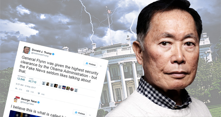 George Takei Leads The Charge Against Trump For Blaming His Troubles On Obama