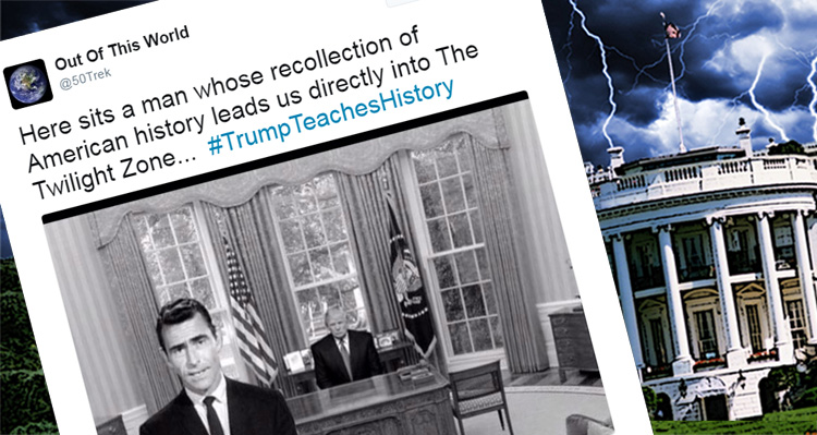 #TrumpTeachesHistory Takes The Internet By Storm