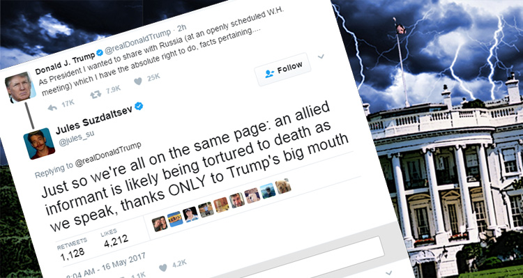Twitter Storm Erupts In Response To Trump – And It Isn't Pretty