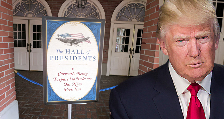 Only Trump Could Create A Madhouse At Disney World