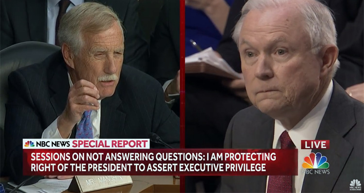 Jeff Sessions Grilled By Senate Democrats For Obstructing Their Russia Investigation
