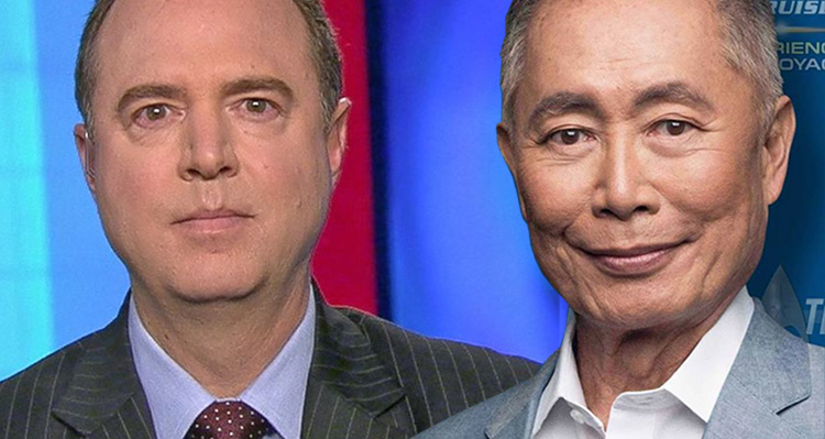 George Takei and Adam Schiff's Brilliant Responses To Trump's Asinine Tweet