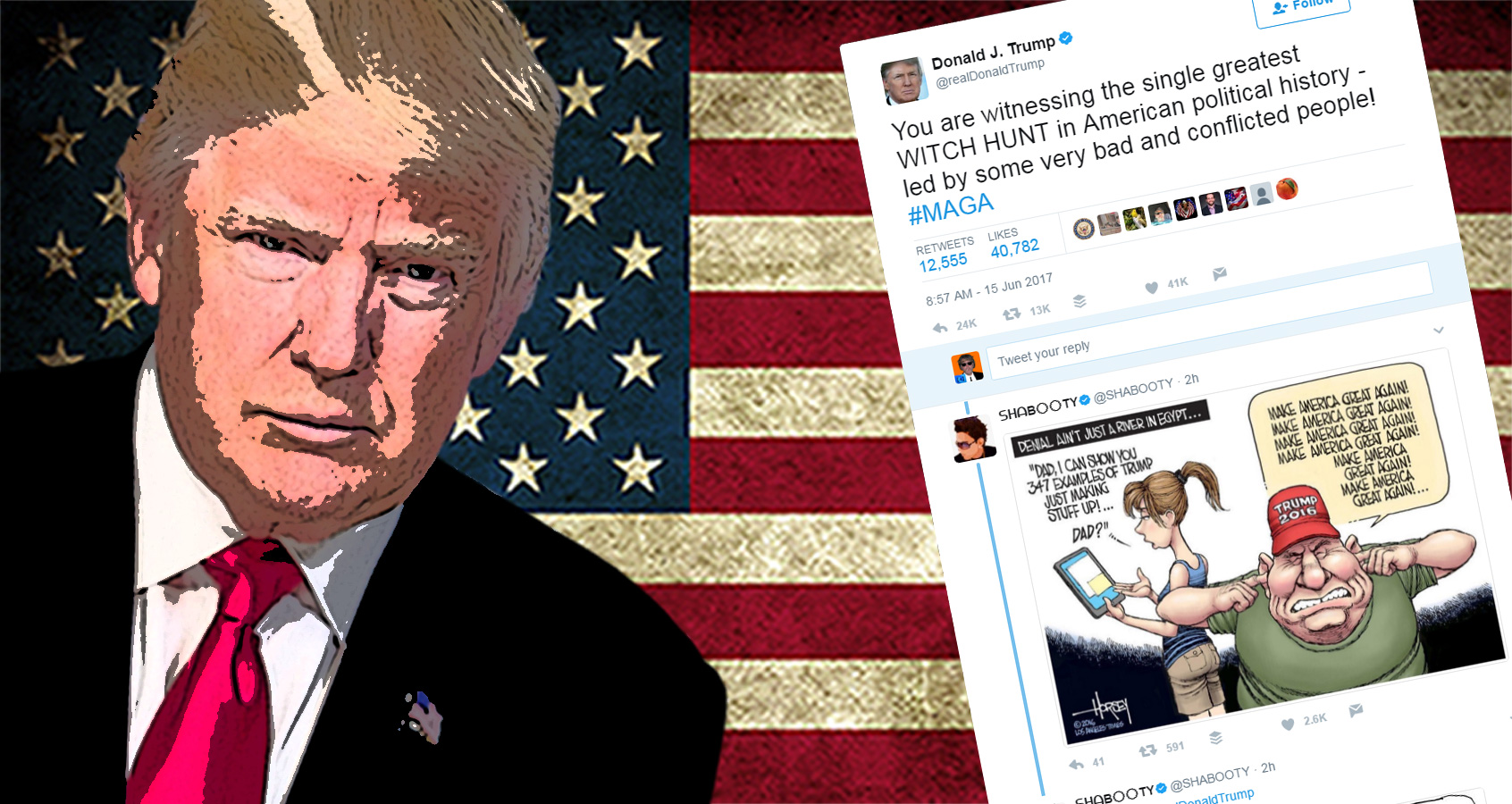 Trump Mercilessly Mocked After He Embarrasses Himself Again With Early Morning Twitter Tantrum
