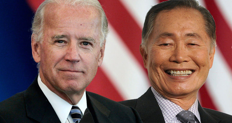 Joe Biden And George Takei Lead The Charge Against Trump's Twitter Tirade