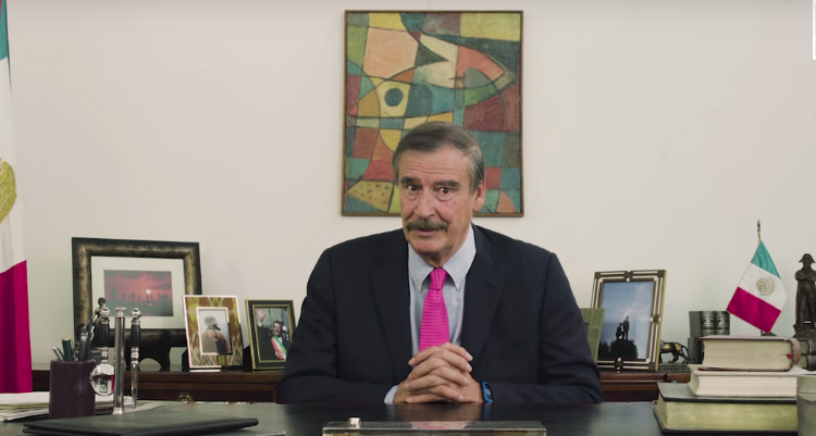 Vicente Fox Hands Donald Trump His A** In A Hilarious Video