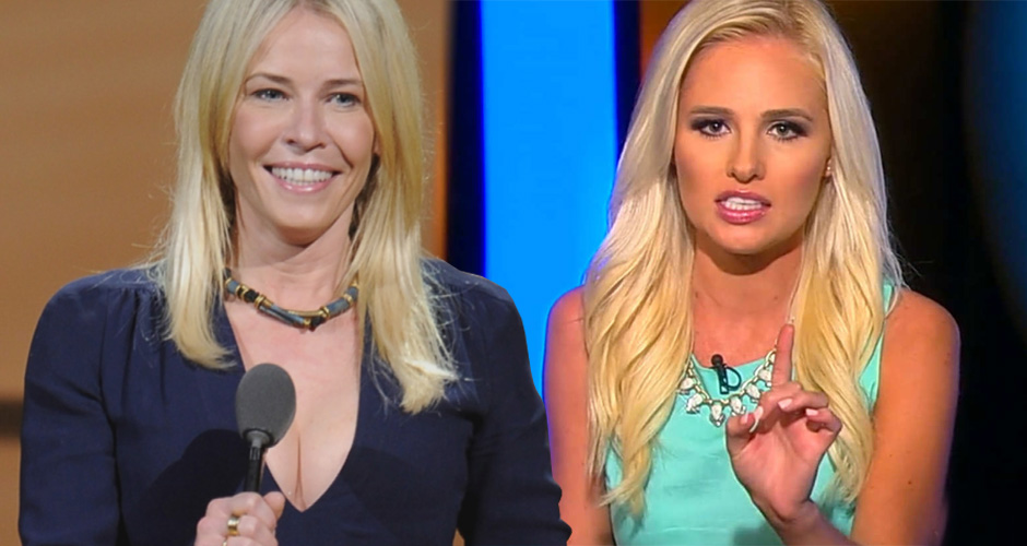 Chelsea Handler And Conservative Tomi Lahren Face Off In Live Debate