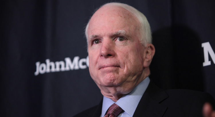 John McCain Made A Pretty Speech And Then He Voted