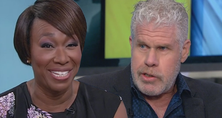 Ron Perlman Brings Joy Reid To Tears With His Trump Impersonation – Video